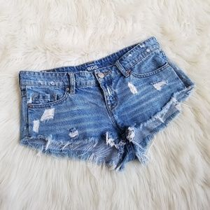 Urban Outfittera BDG Low Rise Dolphin Jean Shorts